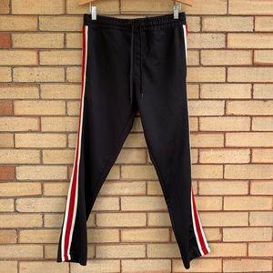 PacSun side stripe track pants GUC